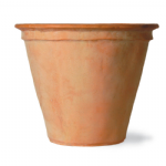 Terracotta Fibreglass Pot